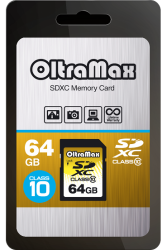OLTRAMAX   64 GB SECURE DIGITAL SDXC CLASS 10