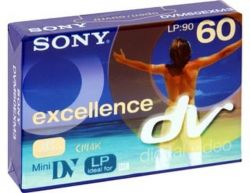 SONY Mini DV-60 EXCELLENCE с чипом