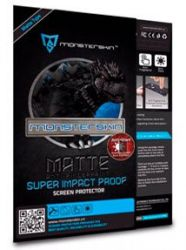 MONSTERSKIN Пленка защитная Super impact proof MATTE for IPH 5