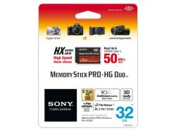 SONY  32GB MEMORY STICK PRO DUO HIGH SPEED (50MB/s) оригинальная