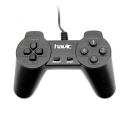 HAVIT GAMEPAD HV-G60 ЧЕРНЫЙ 10 кнопок USB SINGLE NORMAL